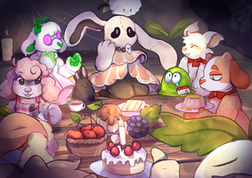 Party at Binx's by rookon