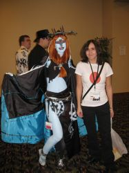 me and Princess Midna by cat55