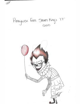 Pennywise by Kyra-Wolfe-666