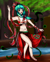 Belly Dancer: Hina by chromatech