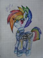 Rainbow Dash old version by Kristalina-Shining
