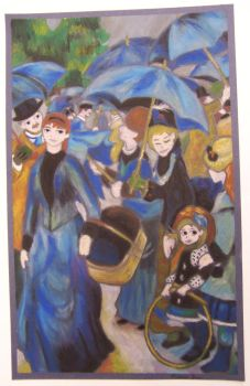 The Umbrellas (Pierre-Auguste Renoir) by RevengeRevisited
