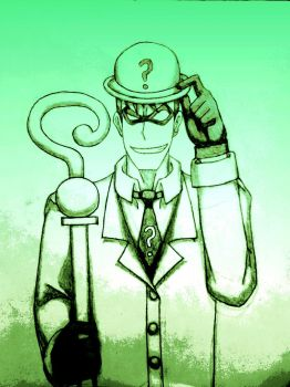 The Riddler by 2gredvisions