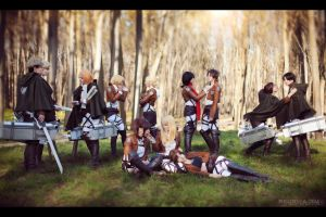 Cosband WTF People - Shingeki no Kyojin by fausto-The-Endless