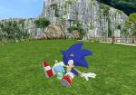 MMD - Sonic and Chao. by mitchika2