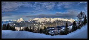 Snowy Mountains by stetre76