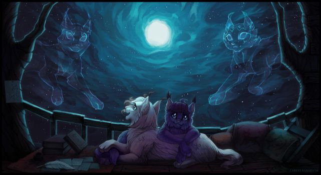 Look at the stars by LarestSabara