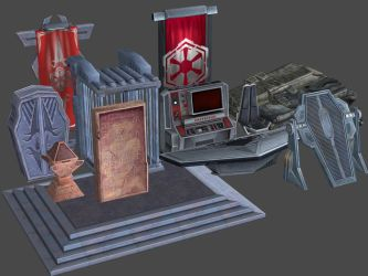 Imperial Props Pack SWTOR for XNAlara by Torol