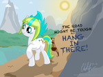 Hang In There by Blackm3sh