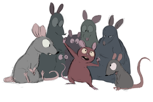 Ah, rats. by carriehankins
