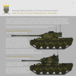 AFVs of the First Anemonian Empire, Part 3 (1944) by SixthCircle