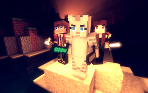 Cookie, VicTycoon and Ferrise J. by VicTycoon