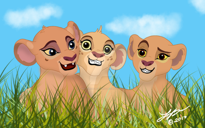 The Lion Guard:  Having Fun in the Grasslands by SpiceFinchCreations