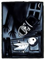 The Babadook Let Me In by Joker-laugh