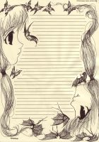 Write a letter to me by psihamaita