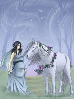 The wedding horse by matena