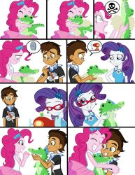 Comm: Pinkie, Gummy Plush, and Copper Plume Comic by Trinityinyang