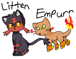 Fire Starters by FruityTootyBat