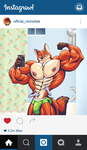 Muscle Selfie Nick by TheFabulousCroissant