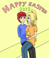 Happy easter by DeidaraLittleMonster