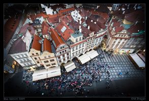 Old Prague by Aderet