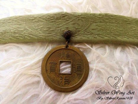 The Bond of Substance- Earth Kingdom necklace by SilverRaven1408