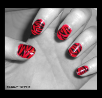 'FasHion' NaiLs xD by giuly--chan