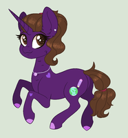 Request - Violet by givolpon