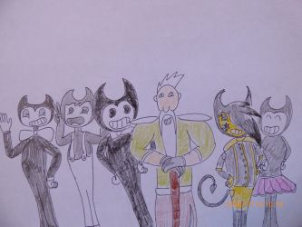 Bendy all friends by balint2002