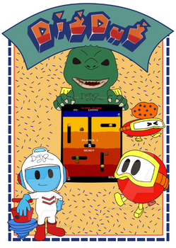 DigDug by Fly-From-The-Inside