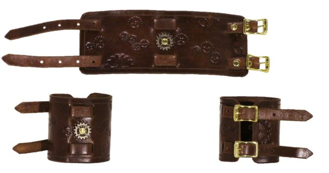 Commission: Steampunk Wristband by DanTheLefty
