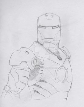 Ironman Sketch by gfield35