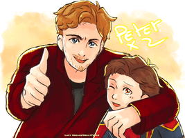 Peter x 2 by GreatPeace