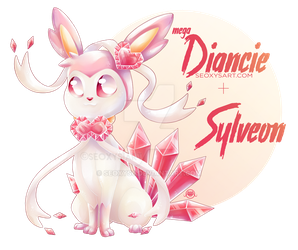 Mega Diancie x Sylveon by Seoxys6