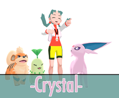 [mmd] -Pokemon Crystal- by FiciAxe