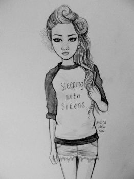 Sleeping With Sirens by sinkholes666