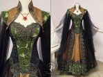Dalish Elf Gown by Firefly-Path