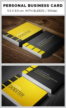 Personal Business Card by alin0090