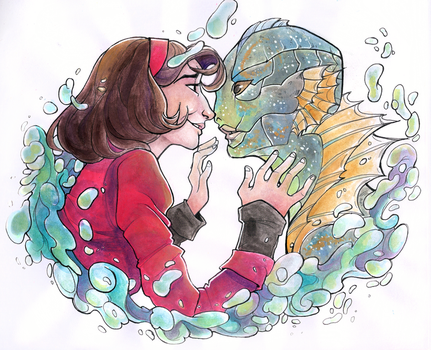 The Shape of Water by Domnics