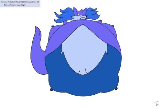 One Blueberried Delphox by TLH-Inflator