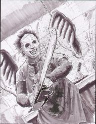 Leatherface by shinlyle