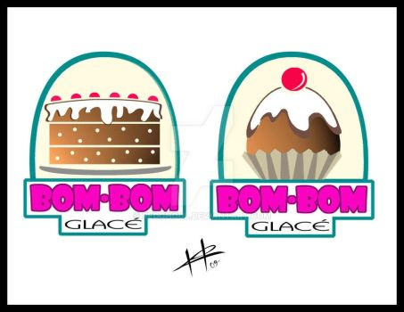 Bom Bom Glace s logo by RedGhoul