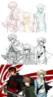 He majesty's knights pictures by Ptit-Neko