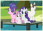 Family Snapshots I - Rarity by Mundschenk85