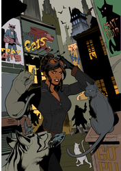 CATWOMAN! by hardrive0225