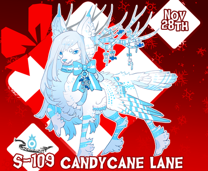 {Stygian Advent Day 9} Candycane Lane by Zoomutt