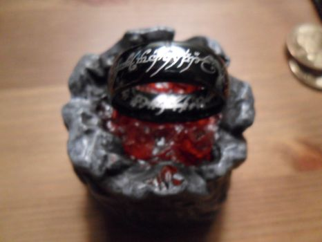 Ring of Power into MT. DOOM!!!!!!!!! by mistbornfan101