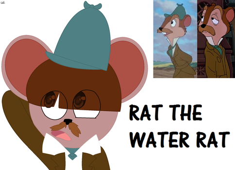 Rat the Water rat by Honeytheartist