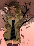 New Jacket by babsdraws