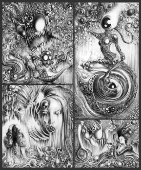 Mythological Monstrosities by McFlyky